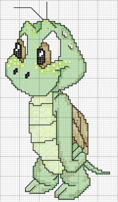 Cute turtle------I have started a new board just for Cross Stitch.