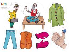 Sagan om Mäster skräddare är en klassisk omtyckt folksaga med upprepning som är bra för språkutvecklingen. Nu finns den som flanosaga, Det var en gång... Inventions, Preschool, Clip Art, Education, Pattern, Sweden, Language, Design, Ideas