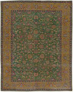 Antique Persian Tabriz Rug 13x10 BB5464 by Doris Leslie Blau