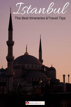 Our Istanbul Guide which includes tips on where to stay and eat all rolled into some itineraries! Istanbul Itineraries and Travel Tips – Reflections Enroute Europe Travel Tips, European Travel, Asia Travel, Travel Guides, Backpacking Europe, Travel Hacks, Budget Travel, Istanbul Guide, Turkey Travel