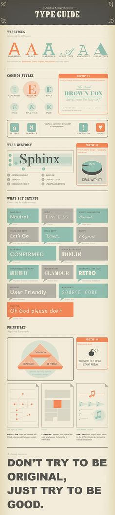 A Quick & Comprehensive Type Guide from 10 Infographics That Will Teach You About Typography