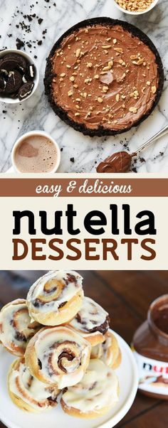 Thumbs Up: These easy & delicious Nutella desserts will make everyone love you! http://ow.ly/IFShs