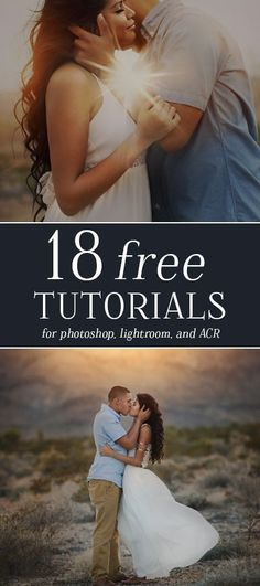 18 more Free Tutorials for Photographers! Includes free tutorials for Photoshop, Lightroom, and Adobe Camera RAW + one photography tutorial! Dslr Photography Tips, Mixed Media Photography, Photography For Beginners, Photoshop Photography, Photography Tutorials, Digital Photography, Creative Photography, Portrait Photography, Raw Photography