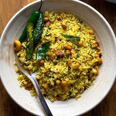 Lemon Rice (Chitrannam)  - EatingWell.com