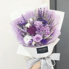 Flowers Bouquet Photography Florists Ideas For 2019 Boquette Flowers, Purple Flower Bouquet, How To Wrap Flowers, Beautiful Bouquet Of Flowers, Beautiful Flower Arrangements, Happy Flowers, Romantic Flowers, Simple Flowers, Floral Bouquets