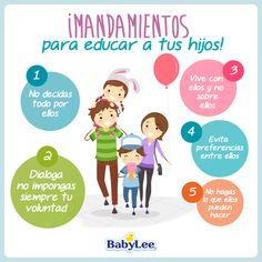¡Mandamientos Para Educar A Tus Hijos!