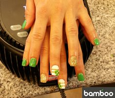 Nail art by Bamboo Nails and Spa Nail Spa, Bamboo, Art, Art Background, Kunst, Performing Arts, Art Education Resources, Artworks