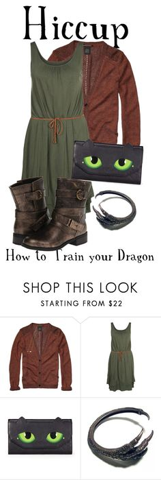 """Hiccup from How to Train your Dragon"" by totallytrue ❤ liked on Polyvore featuring Scotch & Soda, Cartoon, Sweetbox, Dirty Laundry, disneybound and ShowUsYourDisneySide"