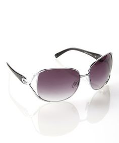 Love this Silver Opulence Sunglasses by Jessica Simpson Collection on #zulily! #zulilyfinds