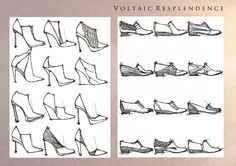 The House of Resplendence (sources of natural light). Womens Footwear for Spring/Summer 2015.  Initial design - Voltaic Resplendence.