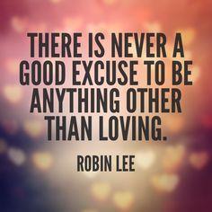 Love endlessly .