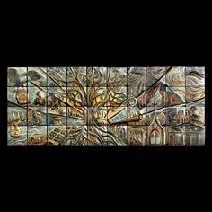 Exterior Murals in a