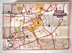 East London #map