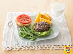 Black Bean Burgers #veggies #grains #MyPlate #WhatsCooking