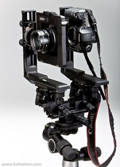 Tilt Shift Large Format system for 35mm digital camera