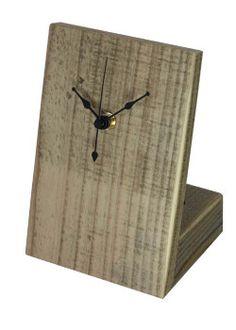 【WOODPRO本店】OLDASHIBA(足場板古材)置き時計