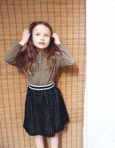 Zwarte rok voor meisjes - IKKS Junior