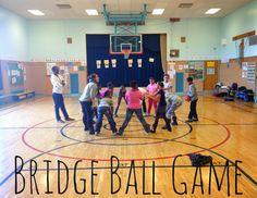 The Brashear Kids: Bridge Ball Game