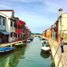 #picoftheday by: @romena  (on Instagram) Scorci di #Burano