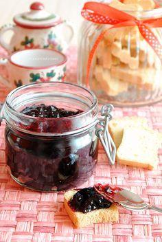 marmellata frutti di bosco surgelati