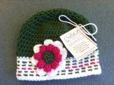 Free Crochet Morse Code Hat Pattern  Adult Ladies Size Hat  From crochetforcancer.org