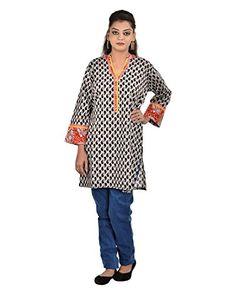 Damyantii Plus Size Women's Cotton Banded Collar Kurti Da... http://www.amazon.in/dp/B011LCDOC6/ref=cm_sw_r_pi_dp_x_NDCQxb19SGP8F