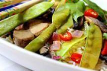 Thai Tofu Vegetable Stir Fry - Copyright Darlene A. Schmidt, About.com Corp.