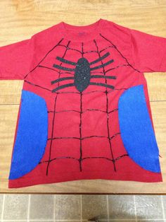 ★ 31 ideas for Halloween shirt with puffy paint – Basic Game Day Shirts Kids Spiderman Costume, Diy Superhero Costume, Spiderman Kids, Diy Halloween Costumes, Halloween Shirt, Halloween Ideas, Halloween 2019, Costume Ideas, Halloween Party