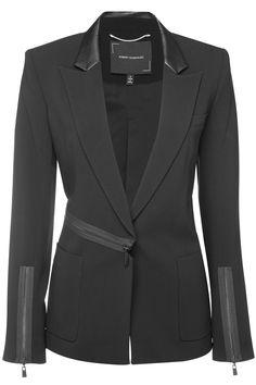 Office Fashion Women, Work Fashion, Fashion Details, Fashion Design, Street Fashion, Suit Fashion, Fashion Outfits, Coats For Women, Jackets For Women