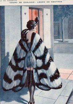 The Moth Cape… La Vie Parisienne c.1928