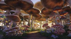 Mushroom Forest on Behance