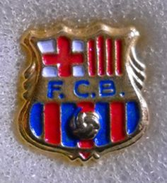 DISTINTIVO SPILLA PIN BADGE F.C. BARCELLONA CALCIO
