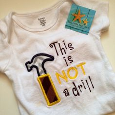 Comical Onesie or Kid's TShirt This is not a by twolittleseastars, $20.00