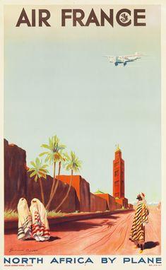 Vintage posters of European airlines Air France vintage posters Retro Poster, Poster Ads, Advertising Poster, 1950s Posters, Air France, Vintage Advertisements, Vintage Ads, Vintage Designs, Vintage Makeup