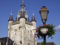 patrimoine de l'Unesco : le beffroi de Rue. Picardie