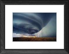 Supercell thunderstorm as Photographic Prints, Framed and Canvas Prints from Science Photo Library, Landscapes
