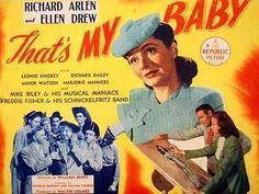THAT'S MY BABY (1944) Richard Arlen - Ellen Drewe - Leonid Kinsky