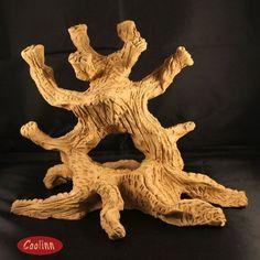 Hydra tree by Caolinn Dree - Kunst nicht nur für Aquarien auch für den Wohnbereich