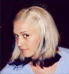 Gwen Stefani black tips