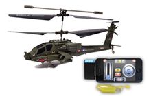 Syma S109G Mini 3 Channel iPhone/Android Smartphone Control RC Helicopter - Green:: $16.99