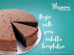 #Masoomspancakelounge #cakes #Yummycakes #Chocolate #Nutella