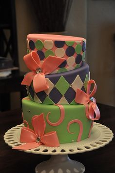 Easter Tea Party by Designer Cakes By April, via Flickr