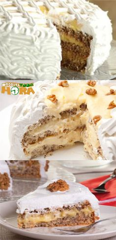 Kitchen Recipes, Cooking Recipes, Dessert Cake Recipes, Homemade Cakes, Sweet Recipes, Delicious Desserts, Cake Decorating, Sweet Tooth, Brunch