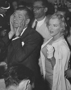 Marilyn Monroe and Laurence Olivier
