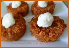 Sweet Potato Cups with Maple Butter - Baking In A Tornado