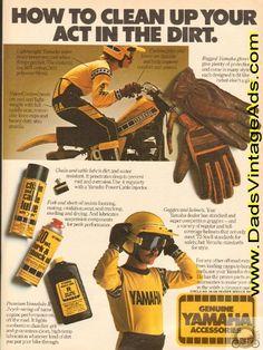 1979 Genuine Yamaha Accessories Vintage Ad