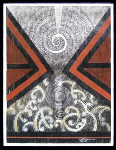 Robin Slow – Kura Gallery: Maori and New Zealand Art + Design. Maori Designs, Kunst Der Aborigines, Maori Patterns, Polynesian Art, New Zealand Art, Nz Art, Abstract Geometric Art, Maori Art, Art Carved