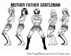 Attack on titan levi's a gentleman