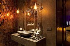 Copper Room, Rainfall Shower, Double Vanity, Sink, Restaurant, Luxury, Rooms, Design, Home Decor