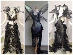This is how the Neverland fairies dress! Don't know the provenance. (The Unseelie Court.)